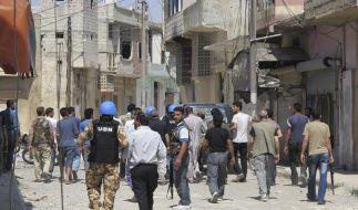 Der oberste Friedenshüter der UN sieht Syrien im Bürgerkrieg. Die USA verlieren die Geduld mit dem Friedensplan von Sondervermittler Annan. (Foto)