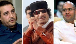 Der Gaddafi-Clan (Foto)
