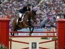 Der Goldene Reiter: Michael Jung brachte die Goldmedaille für die deutsche Mannschaft unter Dach und Fach. (Foto)