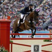 Der Goldene Reiter: Michael Jung brachte die Goldmedaille für die deutsche Mannschaft unter Dach und Fach.