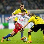2:5 Aubameyang zerlegt den HSV! Klarer Sieg für Borussia Dortmund (Foto)
