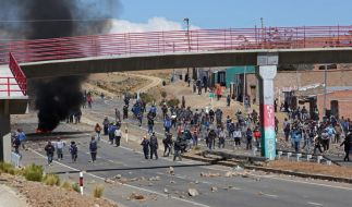Der stellvertretende Innenminister Boliviens soll bei Protesten von Bergarbeitern getötet worden sein. (Foto)