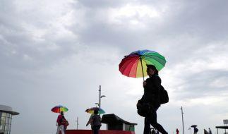 Der Juli bleibt mit einem Sonne-Regen-Mix weiter launisch. (Foto)