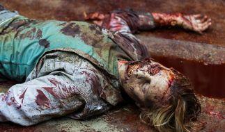 """Der Kampf gegen Negan ist in Staffel 8 von """"The Walking Dead"""" in vollem Gang. (Foto)"""