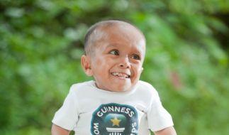 Der kleinste Mann der Welt (Foto)