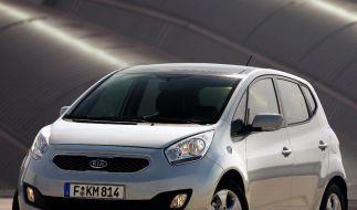 Der Kompaktvan Kia Venga ist neu im Modellprogramm. Cee`d und Sorento wurden überarbeitet. (Foto)