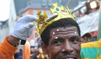 Der Lauf-König (Foto)