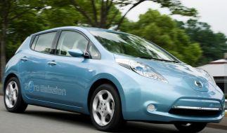Der Leaf soll Nissan in eine Zukunft fernab des Verbrennungsmotors führen. (Foto)