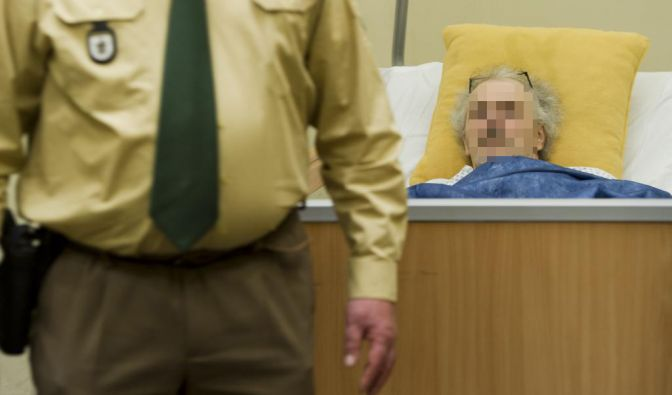 Der Mann, der als Todesschütze von Dachau bekannt geworden ist, erschoss am 11. Januar einen jungen Staatsanwalt im Gerichtssaal. (Foto)