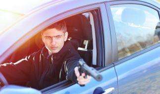Der Mann tötete aus seinem Auto heraus (Symbolbild). (Foto)