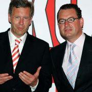 Der damalige Ministerpräsident des Landes Niedersachsen, Christian Wulff (links), und Bild-Chefredakteur Kai Diekmann, als die Welt noch in Ordnung war.
