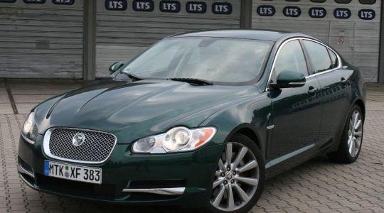 Der neue Jaguar XF macht eine gute Figur als Diesel. (Foto)
