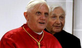 Der Papst besucht Deutschland - Georg Ratzinger plaudert ueber Benedikt (Foto)