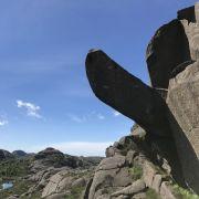 Der phallusförmige Felsvorsprung Trollpikken in Norwegen ist Opfer von Vandalismus geworden. (Foto)