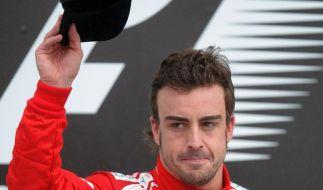 Der zweite Platz im letzten Rennen reichte nicht: Fernando Alonso fehlte Geschwindigkeit. (Foto)