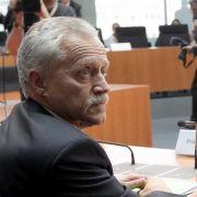 Der scheidende Präsident des Bundesverfassungsschutzes, Heinz Fromm, im Anhörungssaal des NSU-Ausschusses.