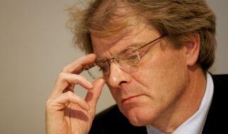Der Präsident des Landesamtes für Verfassungsschutz Sachsen, Reinhard Boos, hat um seine Versetzung gebeten. (Foto)
