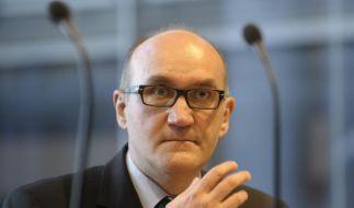 Der Präsident des Thüringer Landesamtes für Verfassungsschutz, Thomas Sippel, muss seinen Posten räumen. (Foto)