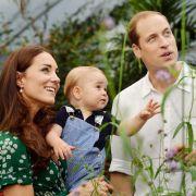 Der kleine Prinz sorgt sowohl in Großbritannien, als auch im Ausland für Entzücken bei allen Royal-Fans.