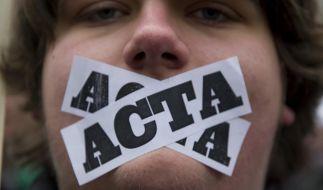 Der Protest gegen Acta zeigt Erfolg: Das Anti-Piraterie-Abkommen wurde vom Handelsausschuss des EU-Parlaments abgelehnt. (Foto)