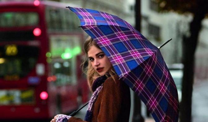 Der Regenschirm soll zum Outfit passen (Foto)