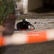 Der Rucksack des 27-jährigen Syrers, der den Sprengsatz enthielt, den er auf dem Musikfestival in Ansbach zur Explosion gebracht hat. (Foto)