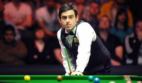 Der Snookerprofi Ronnie O'Sullivan aufgenommen am 15.01.2012 während der BGC Masters in London. (Foto)