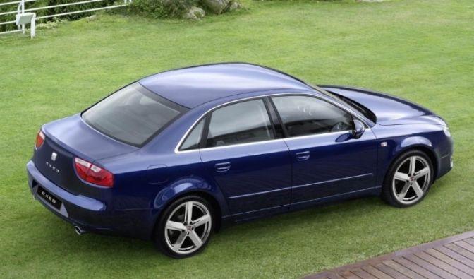 Der spanische Audi A4 (Foto)