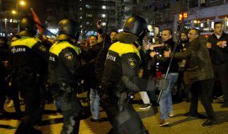 Der Streit zwischen den Niederlande und der Türkei eskaliert. (Foto)