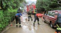 Der Süden Deutschlands litt erneut unter Überschwemmungen nach Starkregen und Unwettern. (Foto)