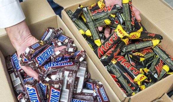 Der Süßwaren-Fabrikant Mars ließ Millionen Schoko-Riegel vernichten. (Foto)