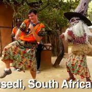 Der Tanzstil in Südafrika kommt Matt entgegen.