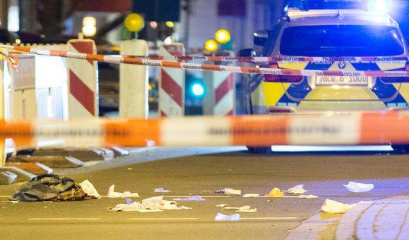 Der Tatort, nachdem die Schüsse auf Mohamed K. gefallen waren. (Foto)