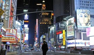 Der Times Square in New York: Hier wollten die Boston-Attentäter Bomben zünden. (Foto)
