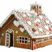 Der Traum jeder Knusperhexe: ein selbstgebackenes Lebkuchenhaus.