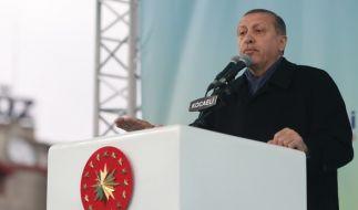 Der türkische Präsident Erdogan drohte den Niederlanden mit Sanktionen. (Foto)