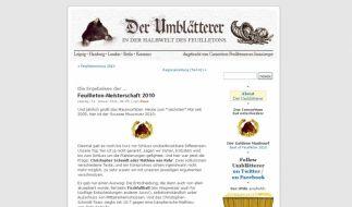 Der Umblätterer (Foto)
