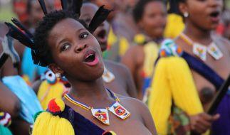 Umhlanga-Tanz in Swasiland