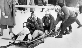 Der USA-Bob gewinnt Gold in Lake Placid 1932 (Foto)
