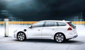 Der Vattenfall-Volvo (Foto)