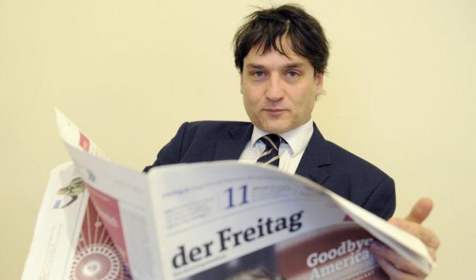 Der Verleger Jakob Augstein. (Foto)
