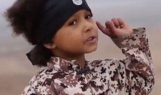 Der vierjährige Isa Dare wird in einem neu-veröffentlichten ISIS-Video zum Henker. (Foto)