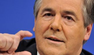 Der Vorstandsvorsitzende der Deutschen Bank, Josef Ackermann. (Foto)