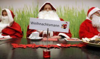 Der Weihnachtsmann kennt keine Gnade. (Foto)