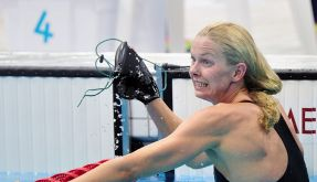 «Der Weltfrieden ist nicht in Gefahr»: Schwimmstar Britta Steffen. (Foto)