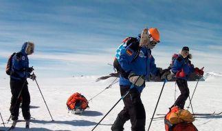 «Der Wettlauf zum Südpol» mit Prominenz (Foto)