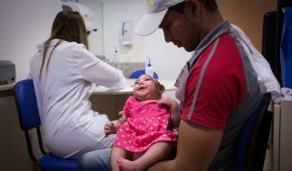 Der Zika-Virus sorgt für Schädelfehlbildungen bei Ungeborenen. (Foto)