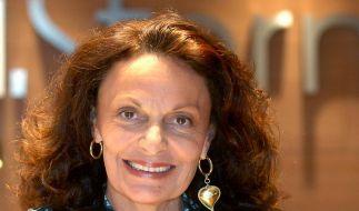 Designerin Diane von Fürstenberg wird 65 (Foto)