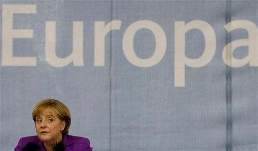 DEU Europa Wahl Merkel CDU (Foto)