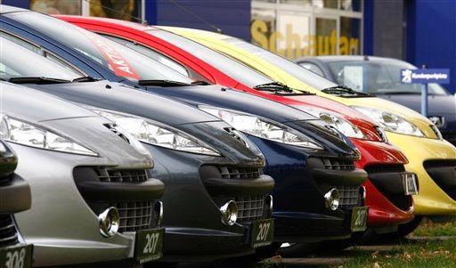 DEU Finanzmaerkte Auto Rabatt (Foto)